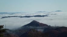 弥高山の雲海