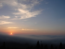 雲量多過ぎ