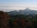 備中松山城はこのあたりです