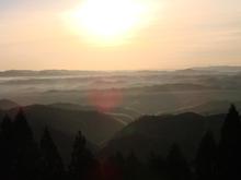 雲海と初日の出が見れるか